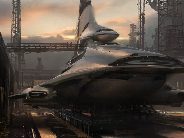 Jaime Jones Concept Artist Sci-fi Illustrations Of