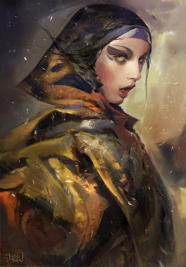 Ross Tran Digital Artist Art Of