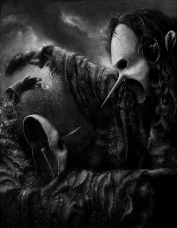 Dark Surreal Art Of Wuwejo Jacek Kaczynski