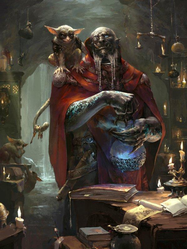 Orc Sorcerer