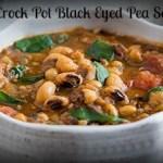 Crock Pot Black Eyed Pea Soup