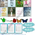 Free April Planner Stickers