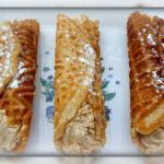 Gingerbread Cheesecake Roll Ups