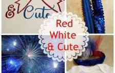 Red White & Cute Baby Outfit for celebrating the 4th of July with free SVG and Cricut cut files from www.thisautoimmunelife.com