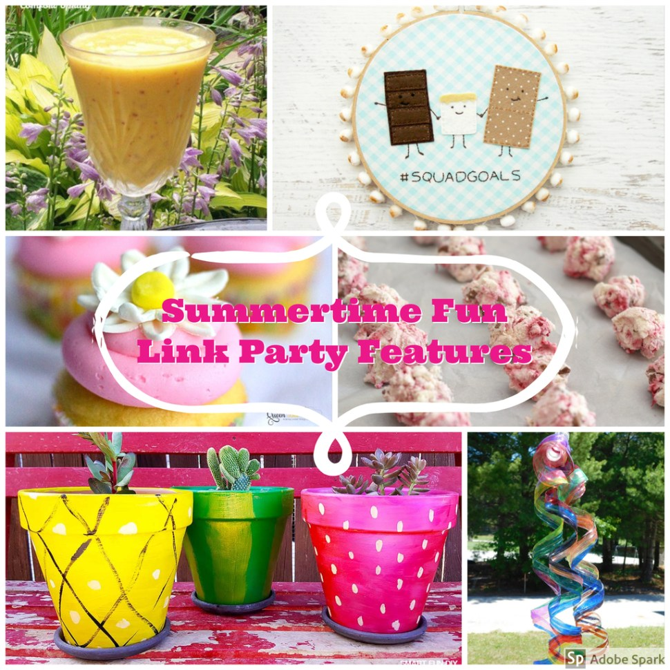 Summertime Fun Link Party Features