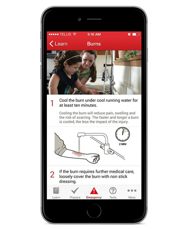 Best Camping Apps: Canadian Red Cross First Aid App