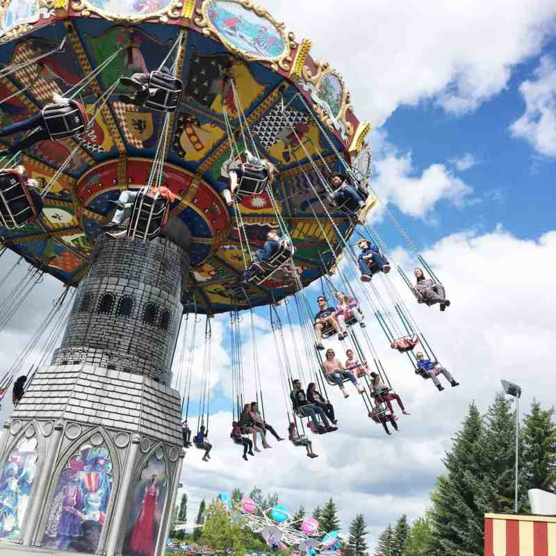 The Dream Machine Swings, Calaway Park