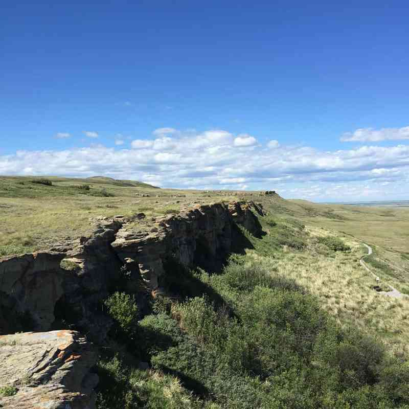 Explore: Head-Smashed-In Buffalo Jump