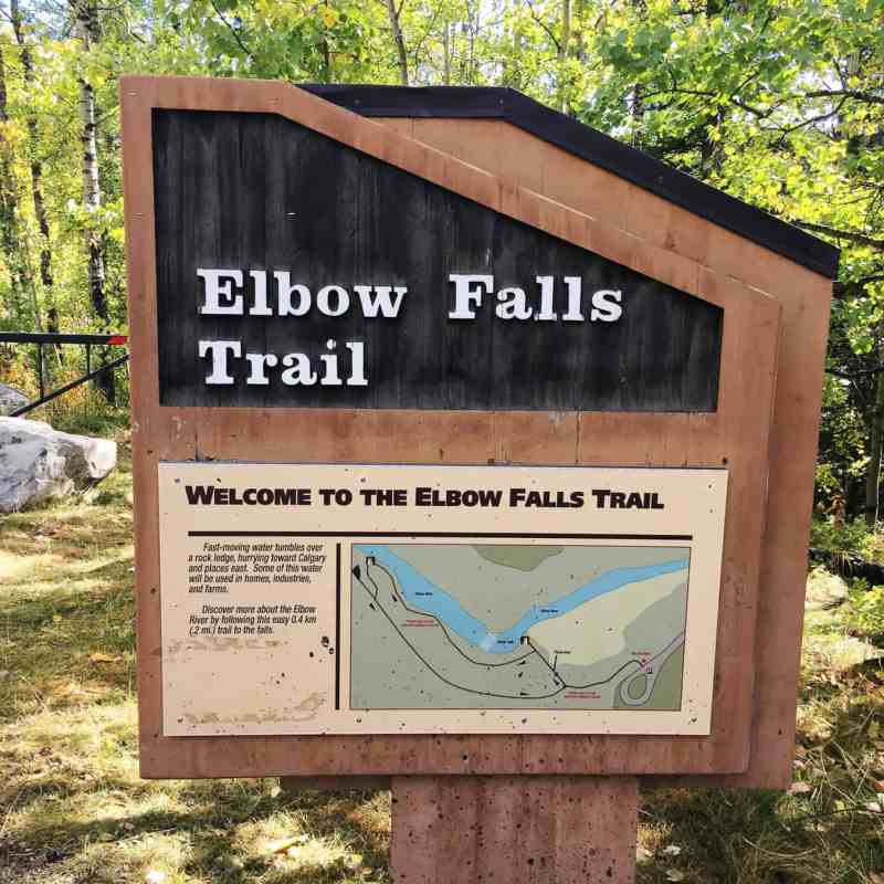 3 Fall Walks in Kananaskis to Do With Your Family: Elbow Falls Trail