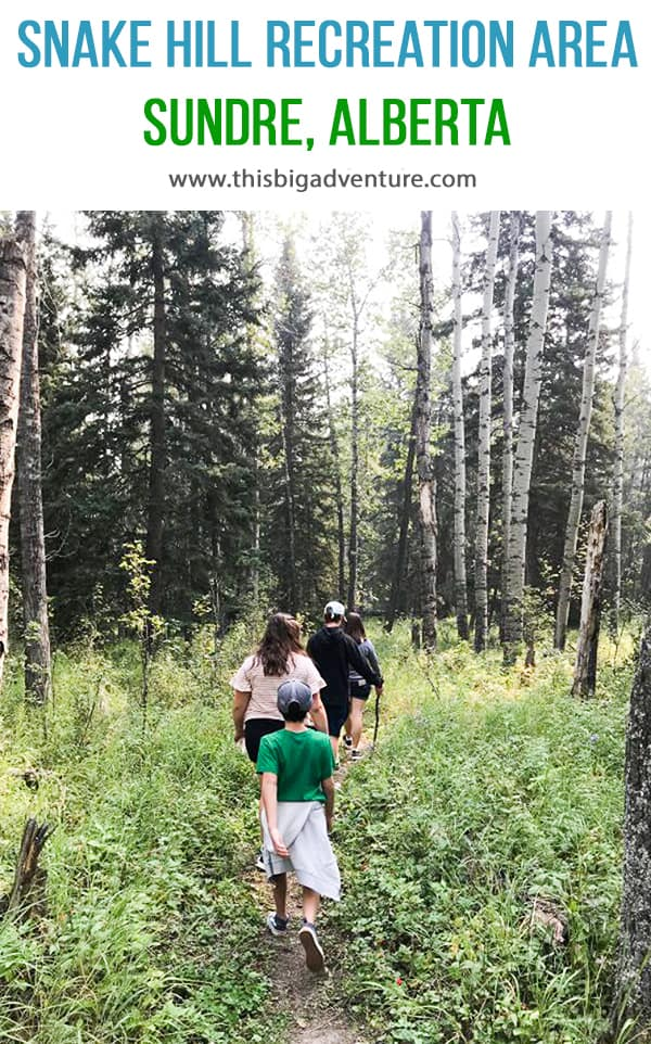 Snake Hill Recreation Area, Sundre Alberta