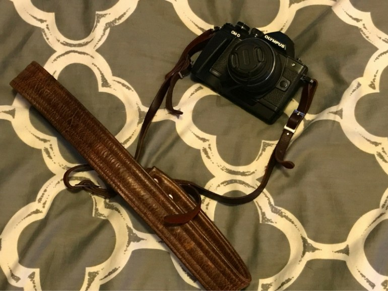 Image of Olympus OMD EM-10 Mark 2 mirrorless camera, recommended to pack for hiking the Inca Trail in Peru.