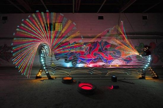 light-paint-fight