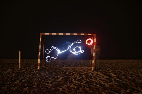 light-paint-goal
