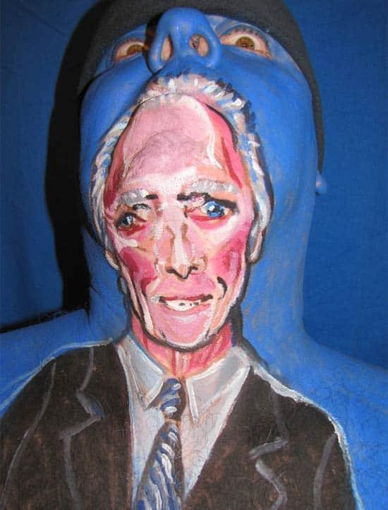 Clint-Eastwood-facepaint