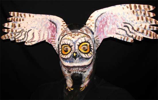 owl-facepaint
