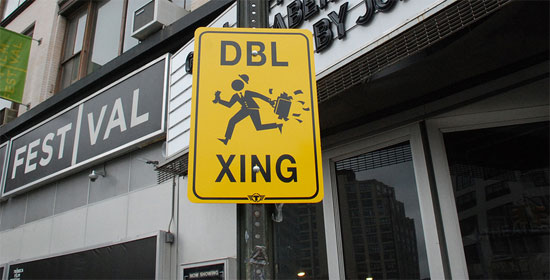 double-crossing-sign
