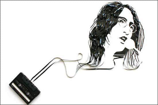 john-lennon-tape-art