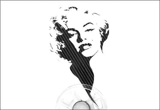 merlin-monroe-tape-art