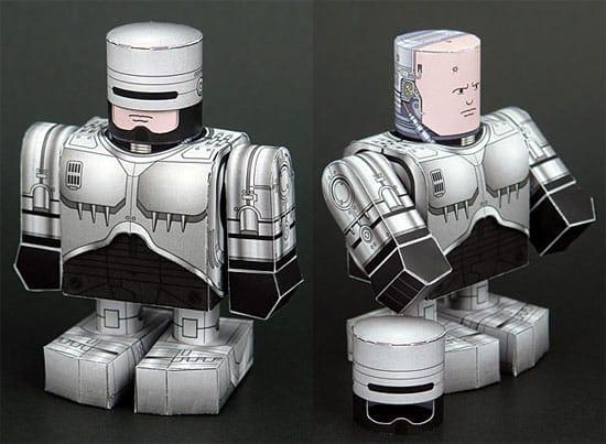 robocop-papercraft