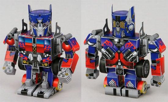 transformers-papercraft
