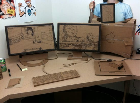 cardboard-desk