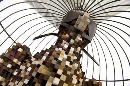 pixelate-bird