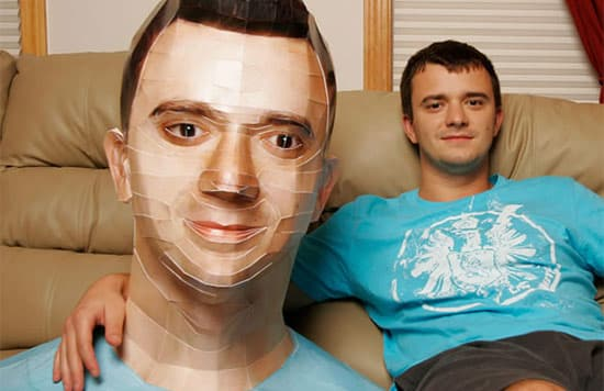self-portrait-paper-sculpture