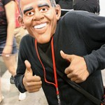 Obama Halloween Mask