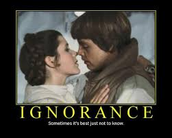 Demotivational Posters and Ignorance