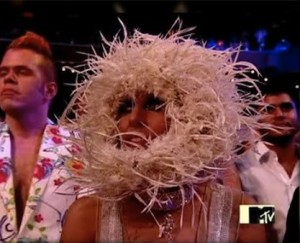Shocking Lady Gaga Outfits and Nest Mask
