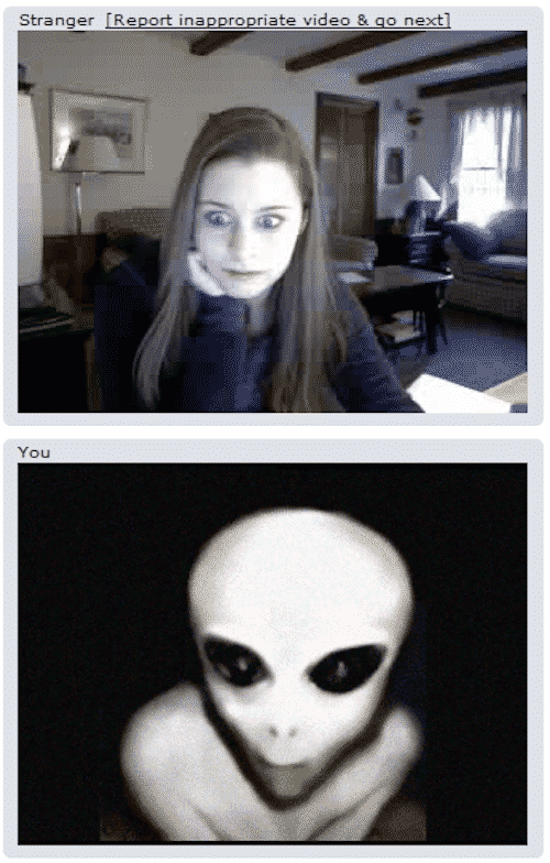 Chat Roulette Around the World