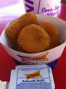 Restaurants That Aren't Around Anymore and Sonic Fried Pickles