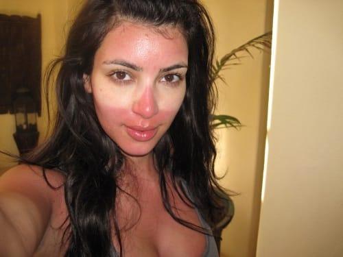 Selfies Gone Wrong and Kim Kardashian Sunburn