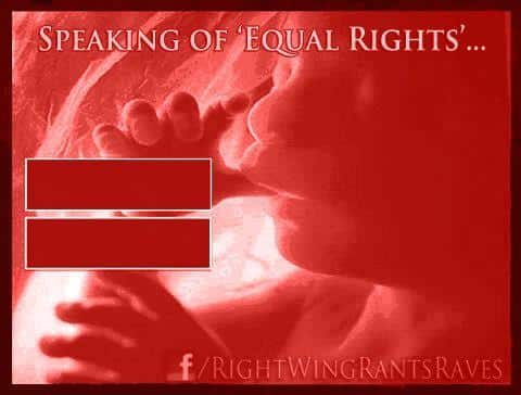 Versions of the Equal Rights Symbol on Facebook and Abortion Parody