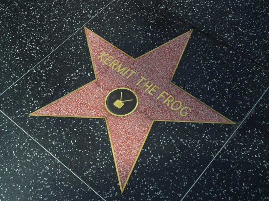Tourist Attractions and Hollywood Walk of Fame, USA
