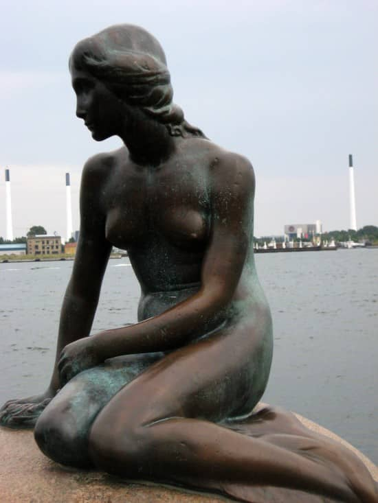 Tourist Attractions and The Little Mermaid, Denmark