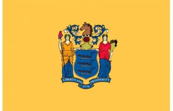 Bizarre Flag of New Jersey, USA