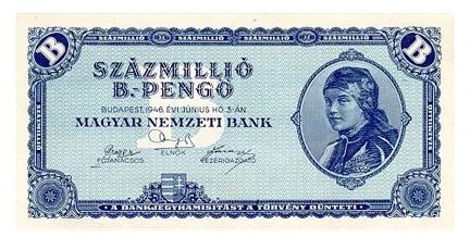 The Silly 100 Million Billon Pengo Note