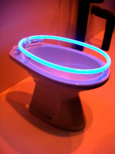 The Illuminated Toilet and Weird and Scary Toilets