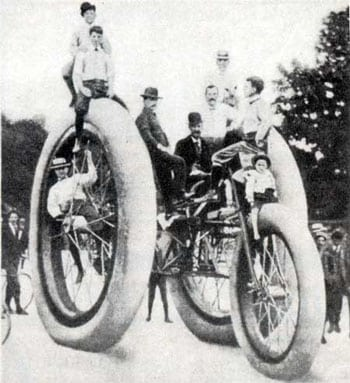 Strange Methods of Transport and The Really Weird Tricycle