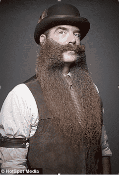 Exuberant Facial Hair, Beards and Moustaches