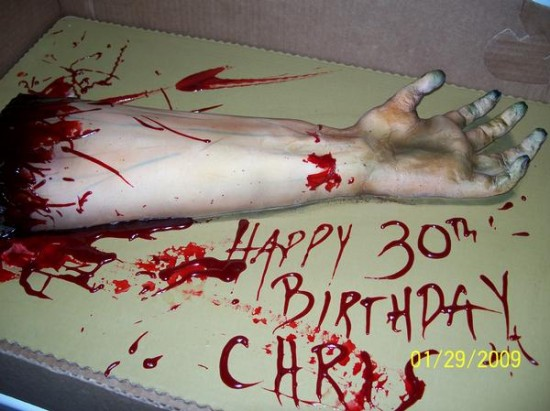 The Strange Severed Body Part Cake