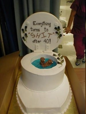 The Strange Toilet Cake