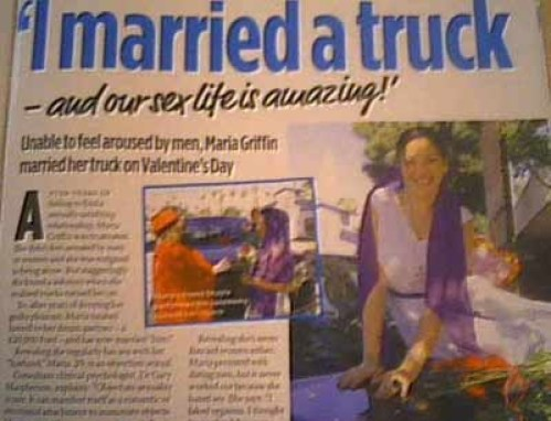 married a truck