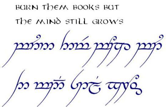 sindarin language