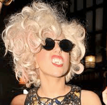 Lady Gaga Weird Hair