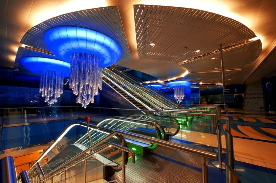 6 of the Most Impressive Subway Stations in the World6