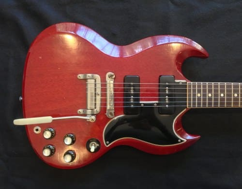1964 gibson sg most expensive guitars