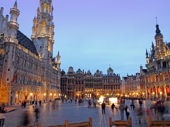 Belgium Brussels. Grand Place