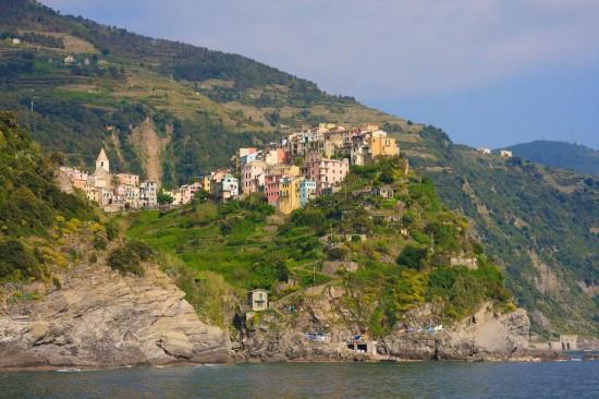 Corniglia is one of the Cinque Terre towns